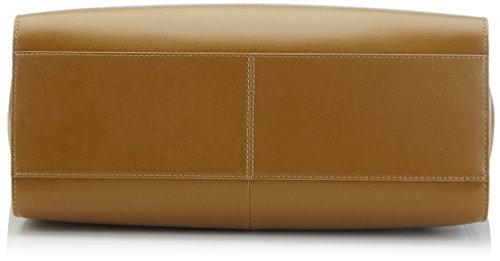 BREE Fantastic 2 Bolsa de Compra de Cuero para Mujer Marrón (olive 470)