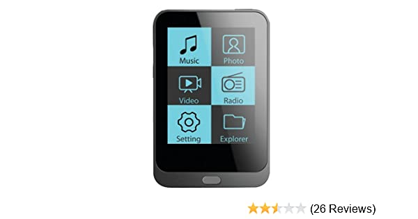 amazon com coby mp820 8gblk 8 gb 1 8 inch video mp3 player with fm rh amazon com MP828 Coby MP827 vs Coby Media Manager MP828