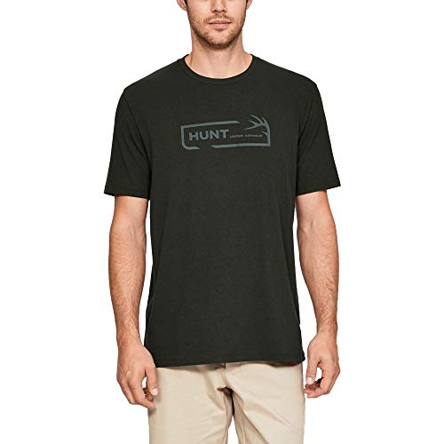 Under Armour Men's Hunt Icon Short sleeve, Artillery Green (357)/Toddy Green, XXX-Large