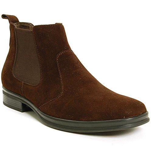 Alpine Swiss Men's Sion Chelsea Ankle Boots