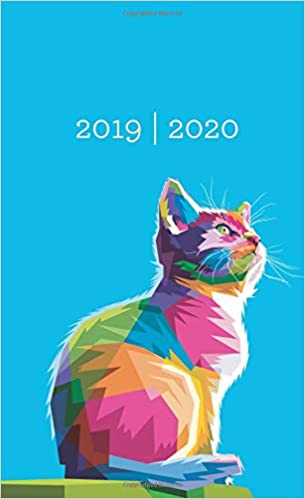 2019-2020: Two Year Monthly Pocket Planner | Mini 4 x 6.5 ...