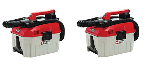 Porter-Cable PCC795B 20V Max Wet/Dry Vacuum, 2 Gallon (Pack of 2)