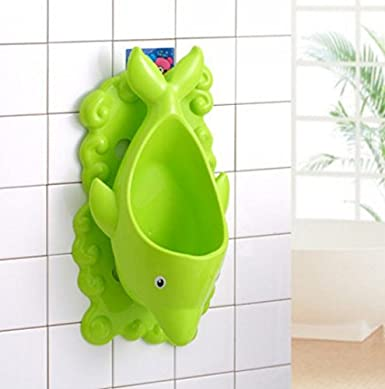 Perfect Mommys Helper for Potty Training Light Green Froggy Baby Urinal