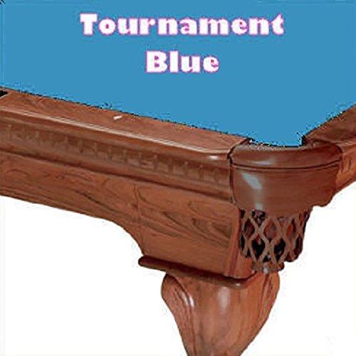 9' Simonis 760 Table Cloth in Tournament Blue