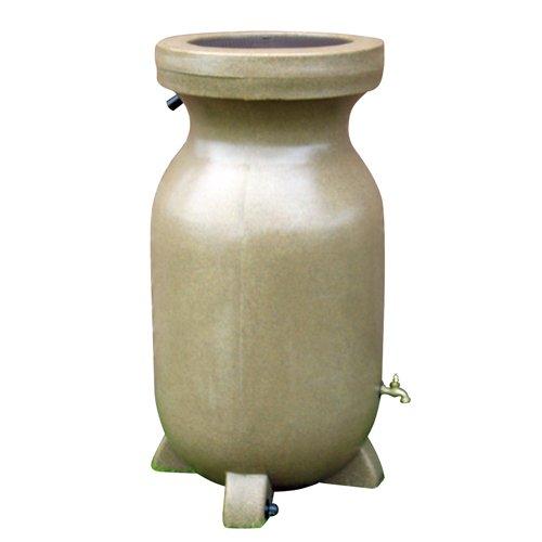 Koolscape RBSS-75 75-Gallon Rain Barrel, Sandstone-Finish