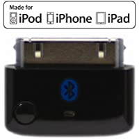 KOKKIA i10 (Black) : Bluetooth iPod Stereo Splitter Transmitter for iPod/iPhone/iPad, with true Apple authentication. Works well streaming to 2 sets of AirPods.