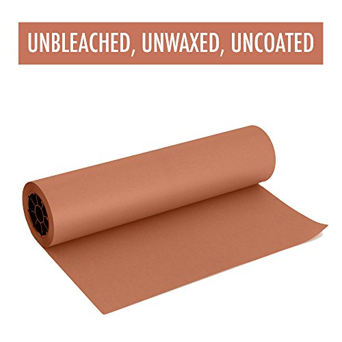 Pink Butcher Paper Roll 18'' X 200' FEET, Kraft Wrapping Paper for Beef Briskets - Made in USA - FDA Food Grade BBQ Meat Smoking and Cooking Paper - Unbleached Unwaxed Uncoated by Land Work Provisions (Image #4)