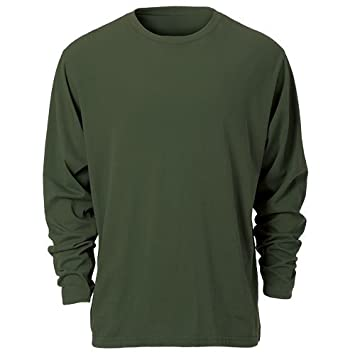 Ouray Sportswear Pigment Dyed Long Sleeve Tee Ouray Sports Athletic Apparel 23038-P