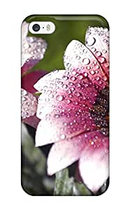 New Morning Dew Beautiful Fresh Nature Flower Tpu Case Cover, Anti-scratch IsabellaSuee Phone Case For Iphone 5/5s