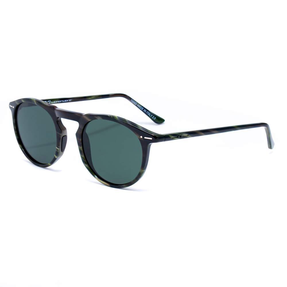 italia independent 0703-BTG-030 Gafas de sol, Gris, 48 para ...