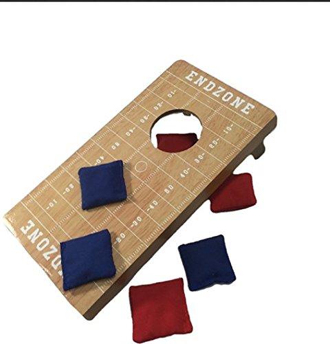 Homeware Mini Toss Bean Bag Game (6 Piece)