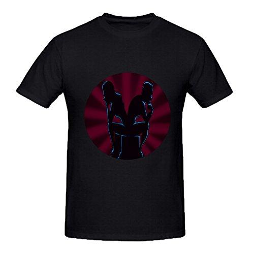 MYBRAND Diy Men Cotton O Neck T shirt TSHIRT83663