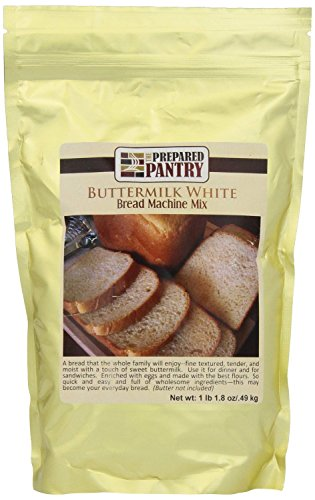 The Prepared Pantry Buttermilk White Bread Machine Mix, 17.8 Ounce (Pack of 4)