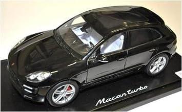 Amazon.es: Porsche Macan Turbo Ltd Edit., modell1: 18 schwarzmet., Interior de ágata/Kiesel gris