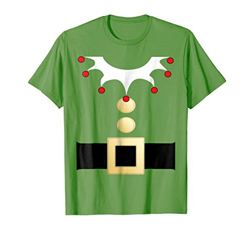 Santa Elf Shirt Funny Halloween Christmas Costume Idea