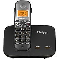 Telefone Sem Fio Digital, Intelbras TS 5150, Preto
