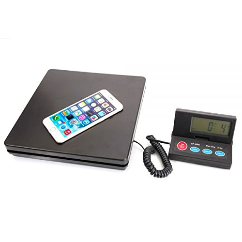 - Weighology Heavy Duty Digital Postal Parcel Scale UPS USPS Post Office Scale w/ AC Adapter (110 Lb Capacity)