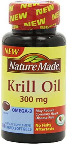 Nature Made Krill Oil 300 mg Liquid Softgels 60 ea (Pack of 12) by Nature Made