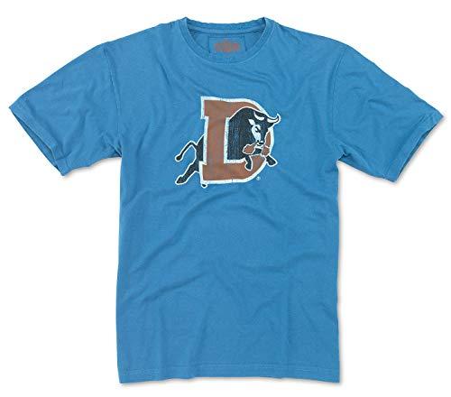 Red Jacket Durham Bulls MiLB Men's Brass Tacks Distressed Logo T-Shirt -