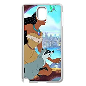Samsung Galaxy Note 3 Cell Phone Case White Pocahontas Z6T1FJ