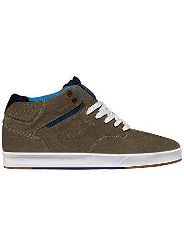 Hombre Zapatillas Skate Globe Motley Consuelo Skate Zapatos - duna/azul marino, 11.0 duna/azul marino