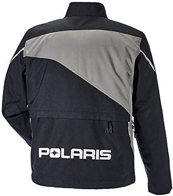 Black//Lime 3X-Large Polaris New Mens Throttle Snowmobile Jacket 286850314