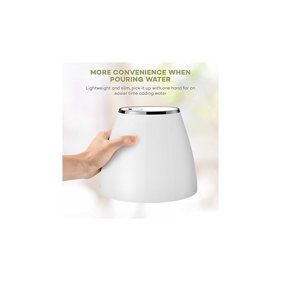 VAVA Cool Mist Humidifier Space Saving Ultrasonic Bedroom Babies Nursery, Whisper Quiet, Filter Free, Automatic Shut Off, 360° Nozzle (1.8L/0.48 Gallon, US 110V) Amazon Vine