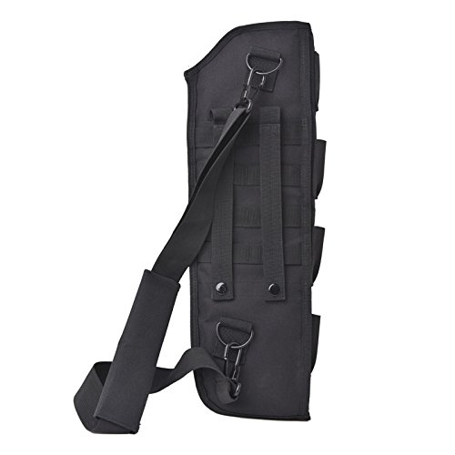 CISNO Outdoor 19'' SBS Hunting Molle Tactical Pistol Grip Short Barrel Shotgun Scabbard Holster Bag (Short Shotgun)