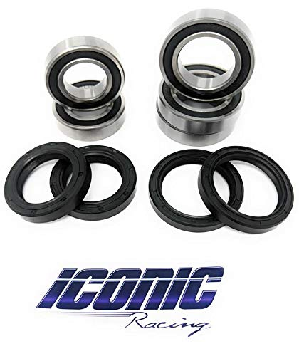 09-13 Yamaha YZ250F YZ450F BOTH Front and Rear Wheel Bearings and Seals Kits OEM