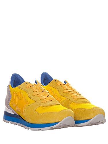 Atlantic Stars , Herren Sneaker gelb gelb Uomo42