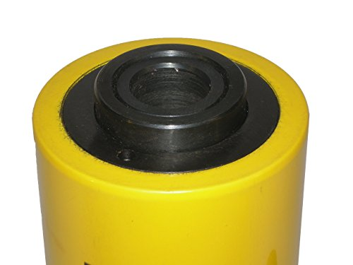 20 tons 2'' stroke Single acting Hollow Ram Hydraulic Cylinder Jack YG-2050K by HYDRAFORE (Image #2)