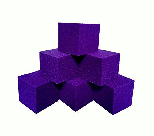 Isellfoam Foam Pits Cubes/Blocks 168 pcs. (PURPLE) 6