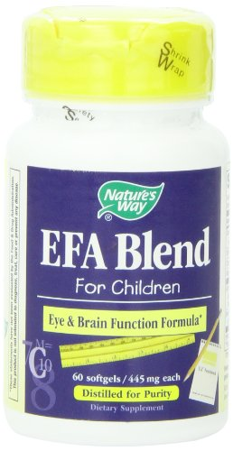 Forma EFA Blend de la naturaleza para niños, 445 mg, 60 cápsulas