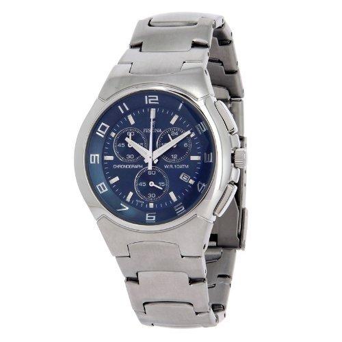 FESTINA F6698/4 - Reloj de caballero de cuarzo, correa de acero inoxidable (