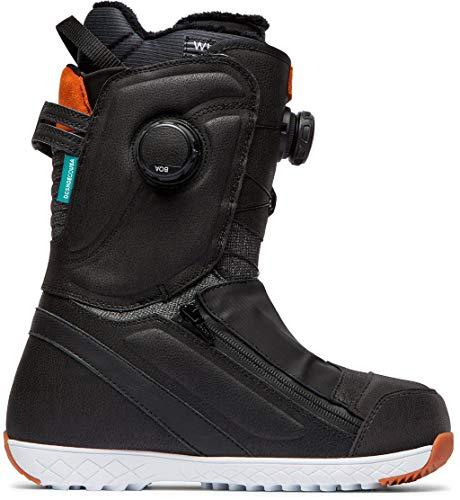 DC Mora BOA Snowboard Boots Womens Sz 9 Black/Blue