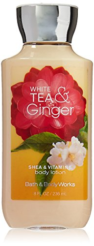 - Bath & Body Works Shea & Vitamin E Lotion White Tea & Ginger