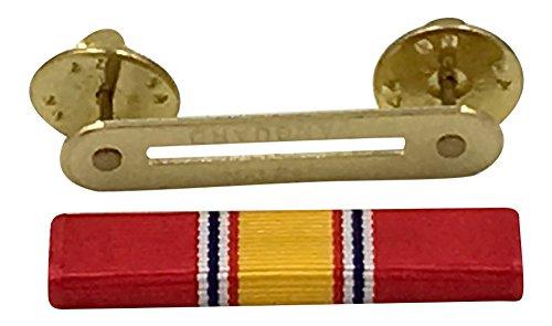 - Official Ribbons for Medals-National Defense Service Ribbon & Ribbon Holder Bar