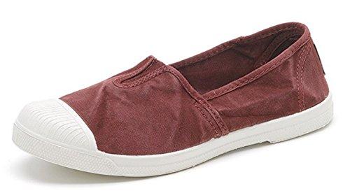 Slavato Trendy World Ultimo Modello Scarpe Sneakers Vegan 620 Mocassini Eco Donna per Colori Ecologico Sneakers Ballerine Molti in 106E Natural Tela fqwzZdTT