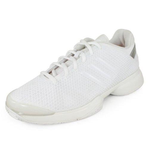 Adidas Barricade 8 zapatos de Stella Mccartney tenis para mujer (5, amapola rosa / polvo suave) Running White