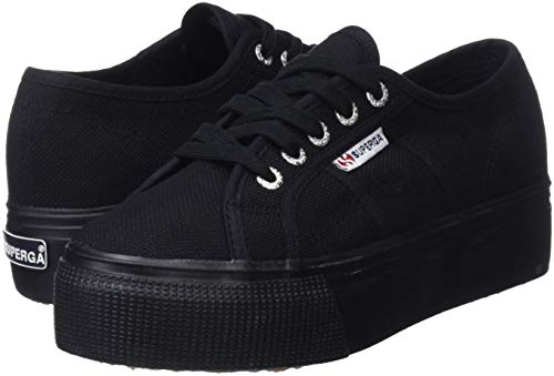 Sneaker Down Up 2790 Acotw Donna Superga and Linea Nero YxtBPdwX