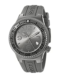 Swiss Legend Unisex 11044P-GM-018B-WC Neptune Analog Display Swiss Quartz Grey Watch