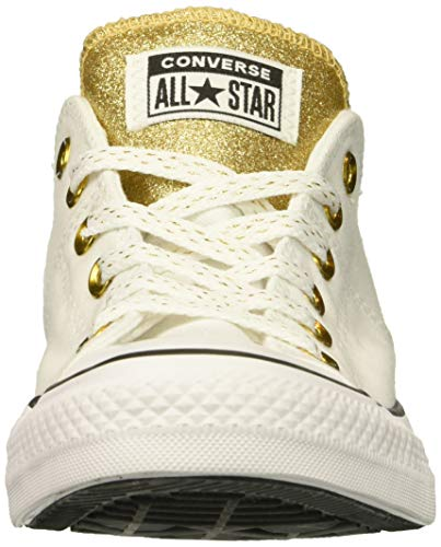 white Madison Femme Star Converse White Top gold Chuck Tennis All Low Taylor 1B1qPfI6