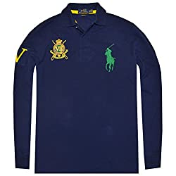 Polo Ralph Lauren Men's Custom Fit Big Pony Crest Logo Polo Shirt