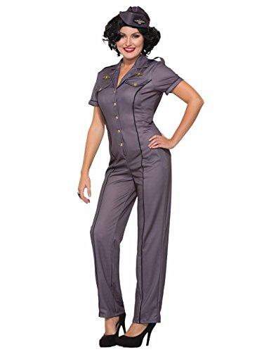 Forum Novelties Women's Standard 1940s Air Force Anna Costume, As As Shown, M/L]()