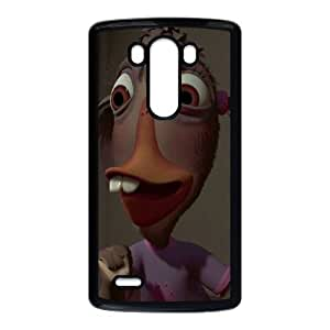 LG G3 Cell Phone Case Covers Black Chicken Little Character Abby Mallard Phone cover SE8580421
