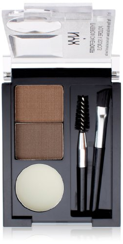 NYX Eyebrow Cake Powder, Dark (Brow Kit)