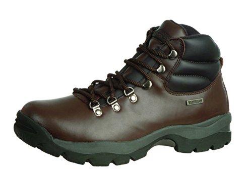 Hi-Tec Mens Eurotrek Hiking Boots Dark/Brown NMZT3P01