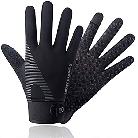 Full Finger Gym Gloves Fitness Gloves Heavy Weight Lifting Palm Protection Strong Grip Quality Breathable Comfort Gloves Touch Screen