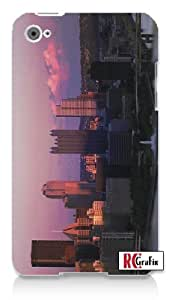 Pittsburgh, PA Awesome Skyline Apple ipod 4 Quality Hard Case Snap On Skin for ipod 4/4G (WHITE)