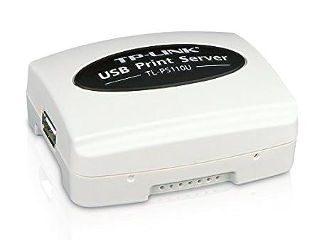 TP-Link TL-PS110U Single USB2.0 Port Fast Ethernet Print Server (White) 9789800359778 Print Servers at amazon